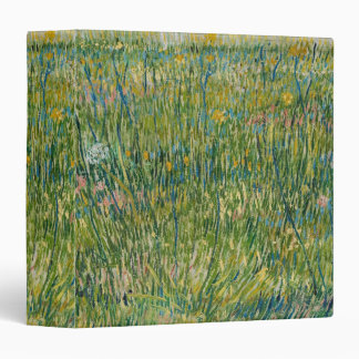 Vincent van Gogh,Patch of grass  Colorful Vinyl Binders