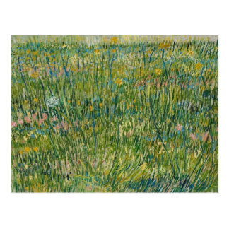 Vincent van Gogh - Patch of Grass Postcard