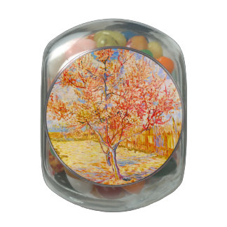 Vincent Van Gogh Peach Tree in Blossom Vintage Art
