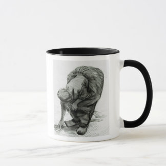 Vincent van Gogh | Peasant Woman Gleaning, 1885 Mug