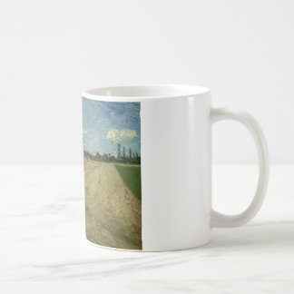 Vincent van Gogh - Ploughed Fields Classic White Coffee Mug