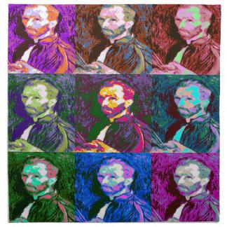 Vincent van Gogh Pop Art Napkin