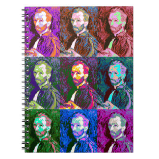 Vincent van Gogh Pop Art Notebooks