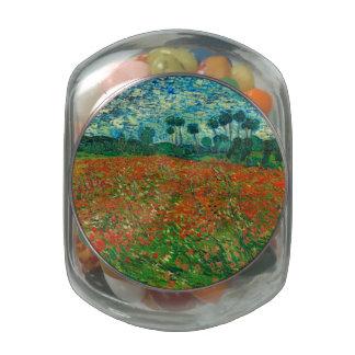 Vincent Van Gogh Poppy Field Floral Vintage Art