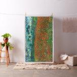 Vincent Van Gogh Poppy Field Floral Vintage Art Fabric