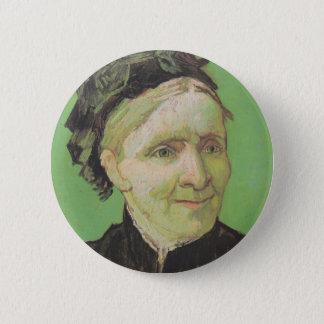 Vincent Van Gogh Portrait of Artist's Mother Art 2 Inch Round Button
