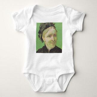 Vincent Van Gogh Portrait of Artist's Mother Art Baby Bodysuit
