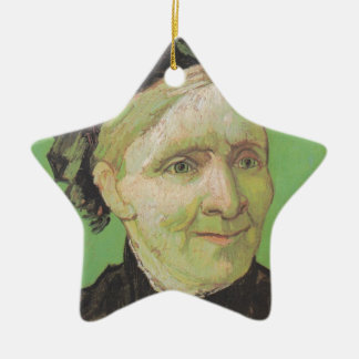 Vincent Van Gogh Portrait of Artist's Mother Art Ceramic Ornament