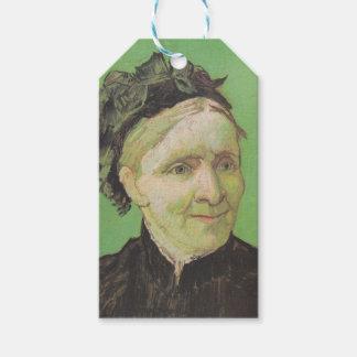 Vincent Van Gogh Portrait of Artist's Mother Art Gift Tags
