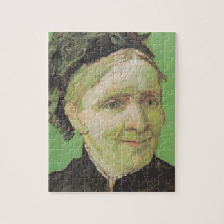 Vincent Van Gogh Portrait of Artist's Mother Art Jigsaw Puzzle