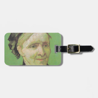 Vincent Van Gogh Portrait of Artist's Mother Art Luggage Tag