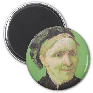 Vincent Van Gogh Portrait of Artist's Mother Art Magnet