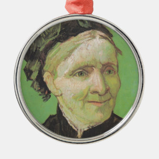 Vincent Van Gogh Portrait of Artist's Mother Art Metal Ornament