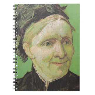 Vincent Van Gogh Portrait of Artist's Mother Art Notebook