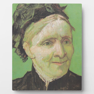 Vincent Van Gogh Portrait of Artist's Mother Art Plaque
