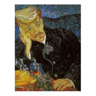 Vincent van Gogh Portrait of Dr. Gachet was painte Postcard
