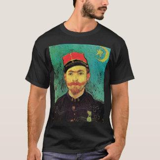 Vincent Van Gogh - Portrait Of Milliet - Fine Art T-Shirt