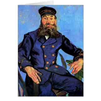 Vincent Van Gogh - Portrait Of The Postman Card