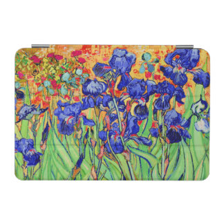 vincent van gogh purple irises iPad mini cover