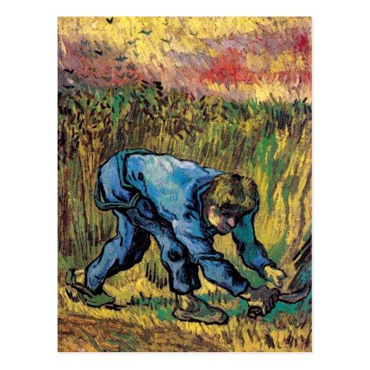 Vincent Van Gogh - Reaper With Sickle - Fine Art Postcard