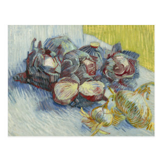 Vincent van Gogh - Red Cabbages and Onions Postcard