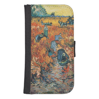 Vincent van Gogh | Red Vineyards at Arles, 1888 Galaxy S4 Wallet Case