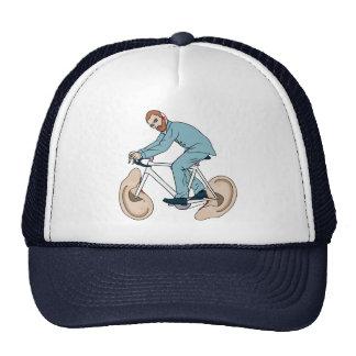 Vincent Van Gogh Riding Bike With Severed Left Ear Trucker Hat