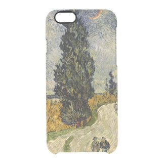 Vincent van Gogh | Road with Cypresses, 1890 Clear iPhone 6/6S Case