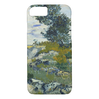 Vincent Van Gogh Rocks With Oak Tree Fine Art iPhone 8/7 Case