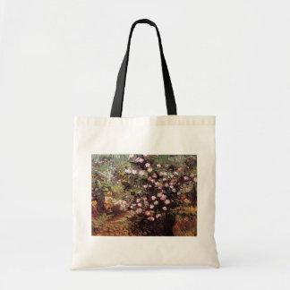 Vincent Van Gogh - Rosebush In Blossom Fine Art Tote Bag