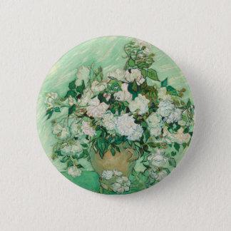 Vincent van Gogh Roses 2 Inch Round Button