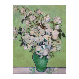Vincent van Gogh Roses Canvas Print