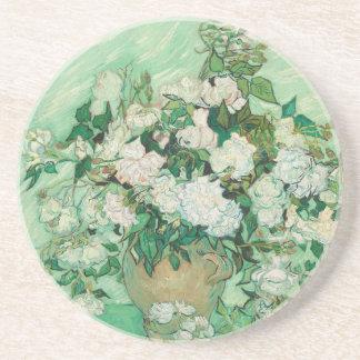 Vincent van Gogh Roses Coaster