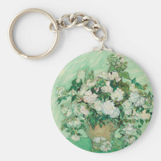 Vincent van Gogh Roses Keychain