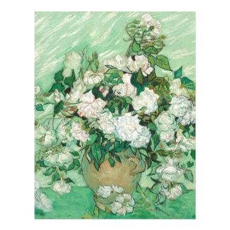 Vincent van Gogh Roses Letterhead