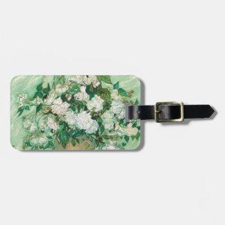 Vincent van Gogh Roses Luggage Tag
