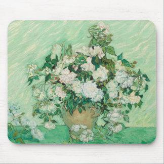 Vincent van Gogh Roses Mouse Pad