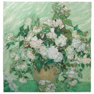 Vincent van Gogh Roses Napkin