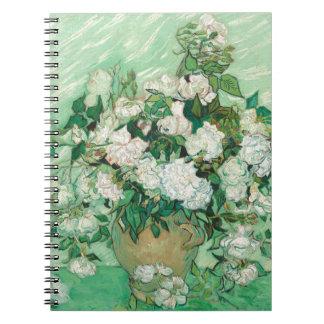 Vincent van Gogh Roses Notebook