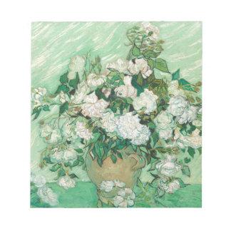 Vincent van Gogh Roses Notepad
