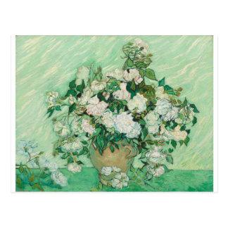 Vincent van Gogh Roses Postcard