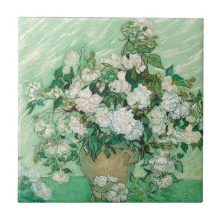 Vincent van Gogh Roses Tile