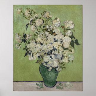 Vincent van Gogh Roses Vintage Floral GalleryHD Poster