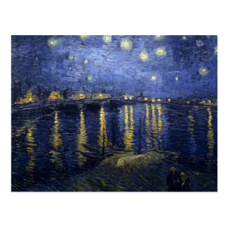 Vincent van Gogh s Starry Night over the Rhone Post Cards