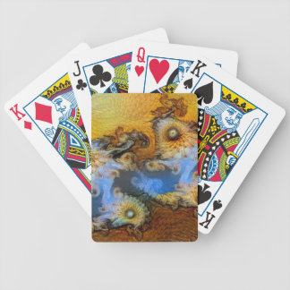 Vincent Van Gogh Seahorse Valley Mandelbrot Zoom Bicycle Playing Cards