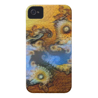 Vincent Van Gogh Seahorse Valley Mandelbrot Zoom iPhone 4 Cover