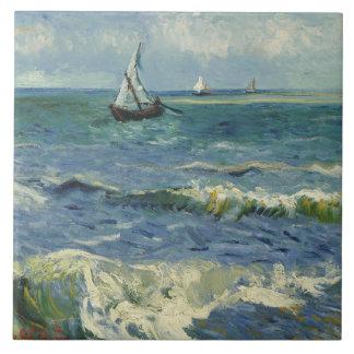 Vincent van Gogh - Seascape near Les Saintes Ceramic Tiles