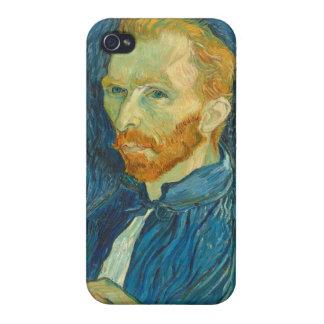 Vincent van Gogh | Self Portrait, 1889 iPhone 4 Cases