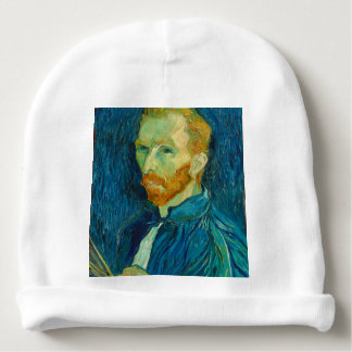 Vincent van Gogh Self Portrait 1889 Painting Baby Beanie