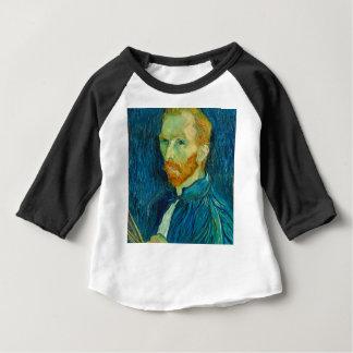 Vincent van Gogh Self Portrait 1889 Painting Baby T-Shirt